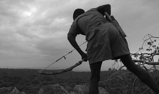 Hadza Hunter in Tanzania