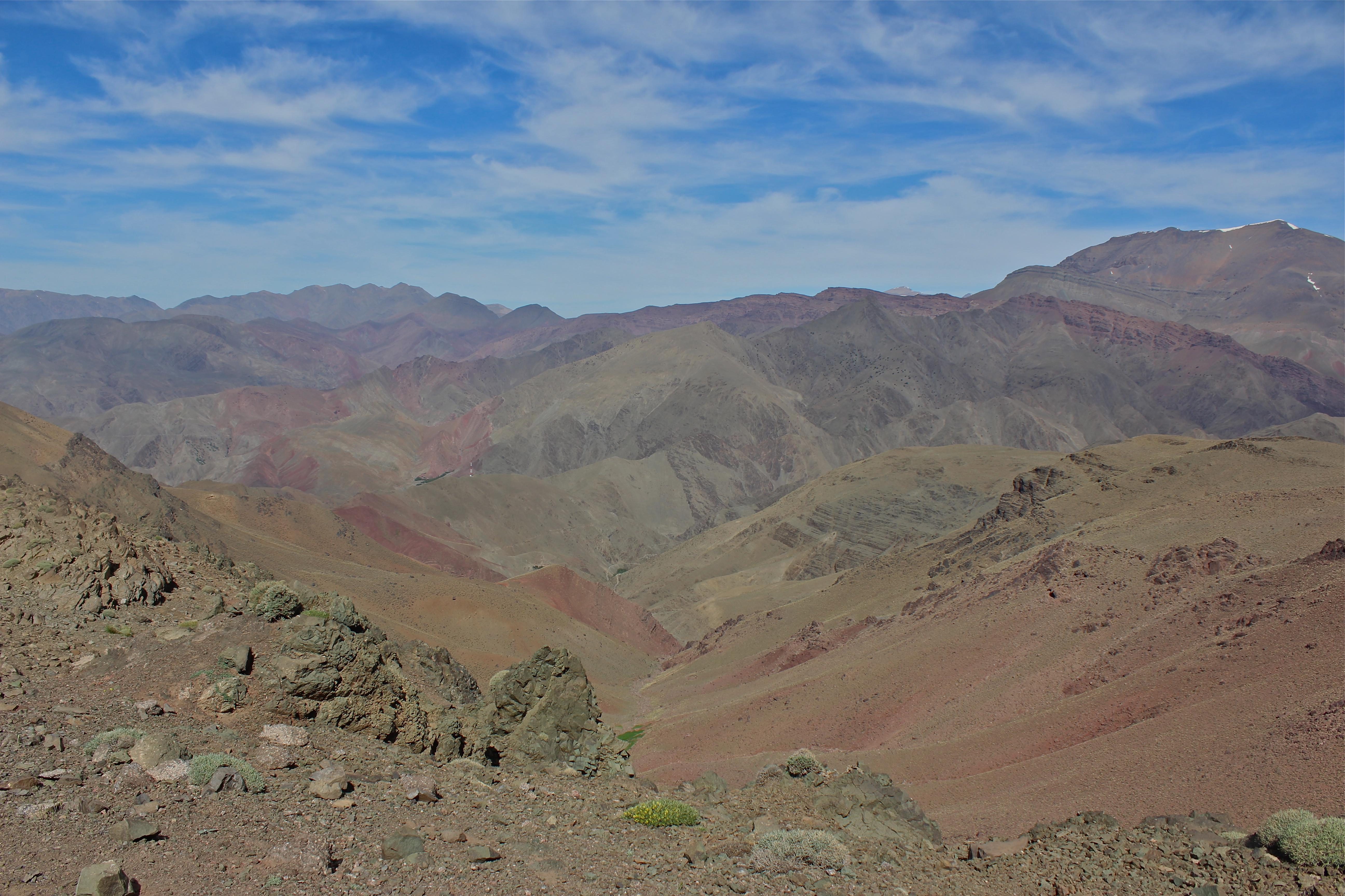 M'goun Massif, High Atlas mountains